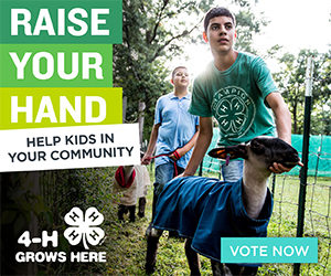 Cover photo for Raise Your Hand for NC 4-Hers