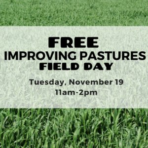 Improving Pastures Field Day - Polk County 2019