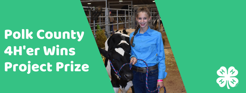 Katelyn Ruff wins 4-H prize