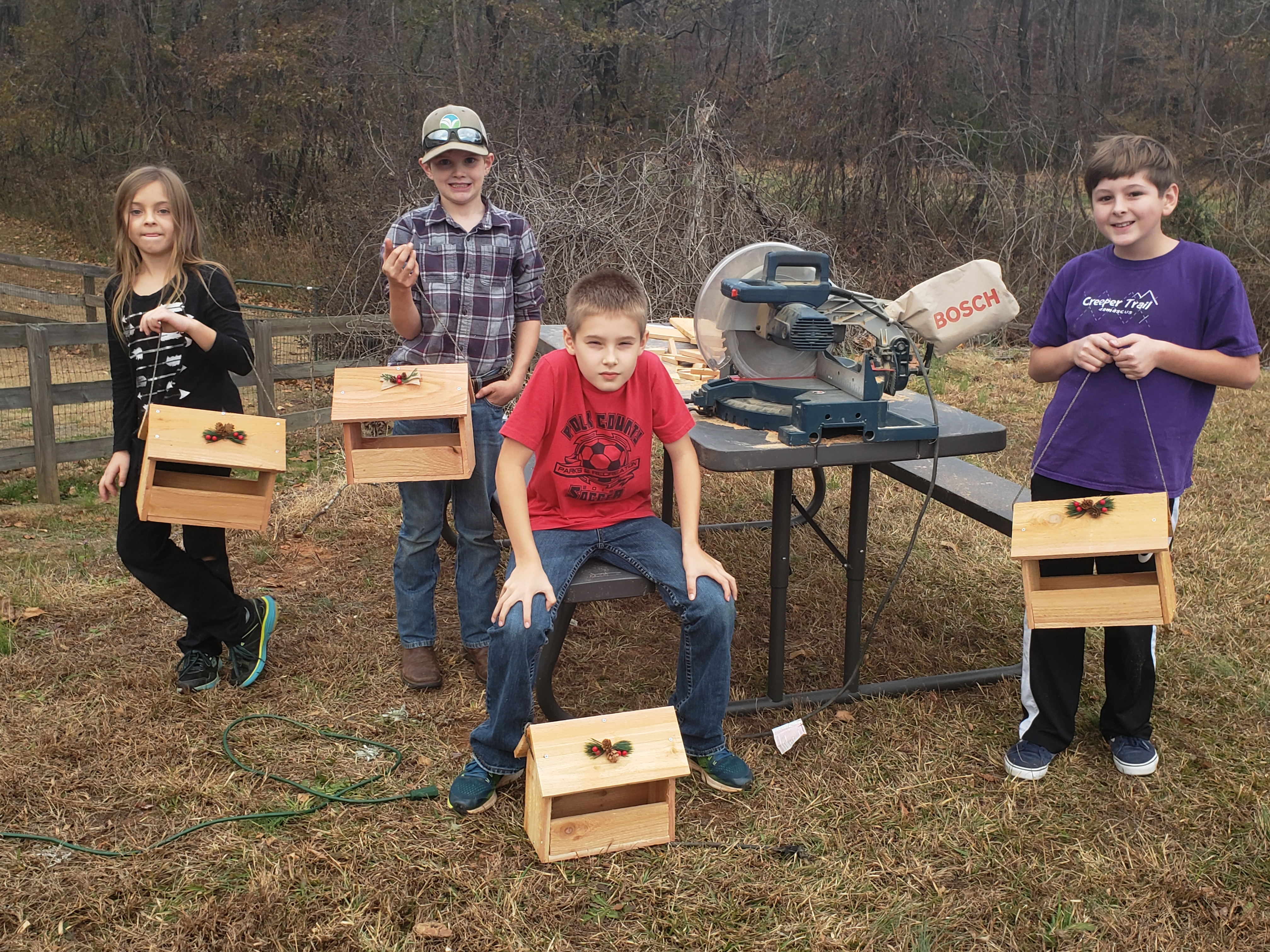 4-H Woodworking Club