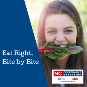 Cover photo for Eat Right Bite by Bite This Month