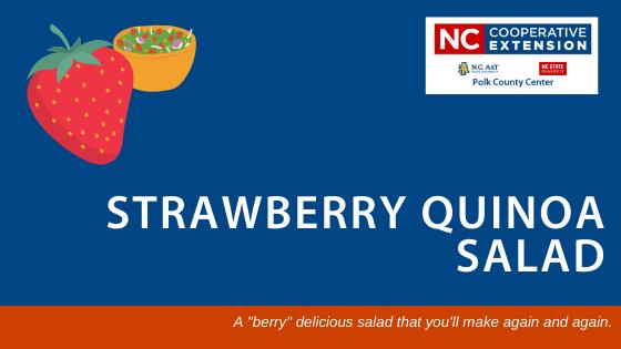 Healthy Strawberry Quinoa Salad Recipe