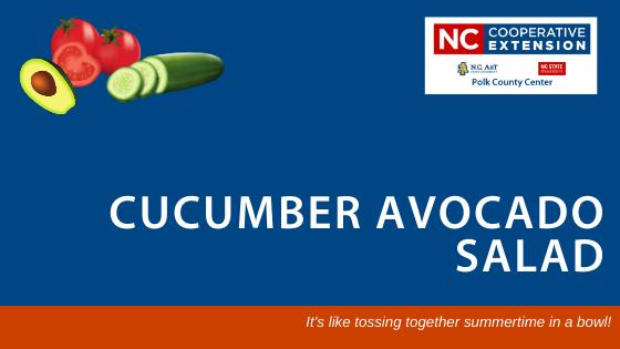 Cucumber Avocado Salad Recipe