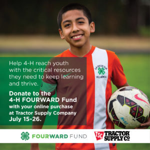 Cover photo for Tractor Supply Company Online 4-H Fundraiser