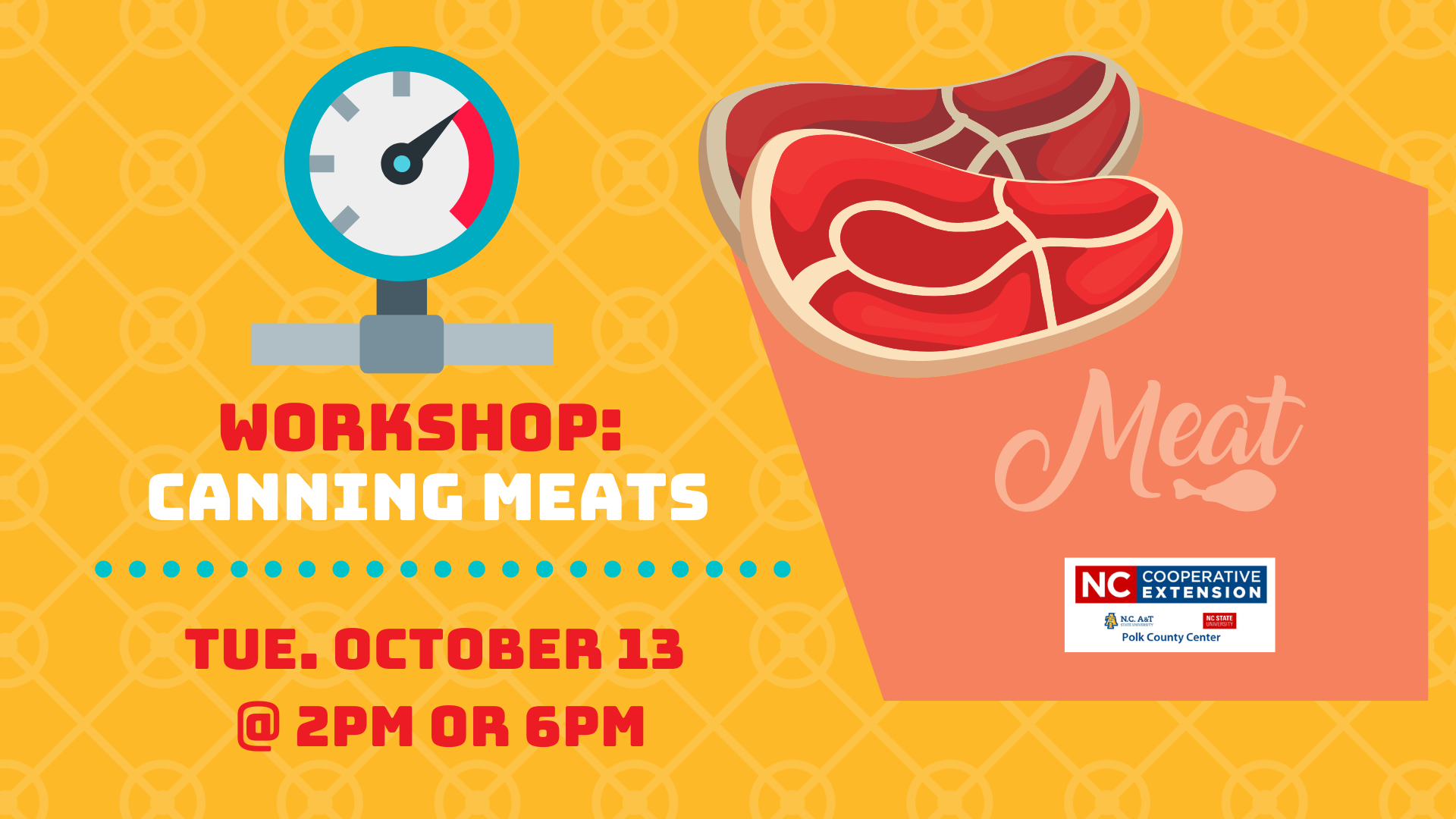 Workshop: How to Can Meats