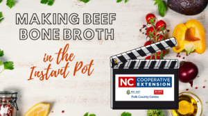 Making Beef Bone Broth in the Instant Pot