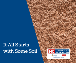 Cover photo for It All Starts With Some Soil