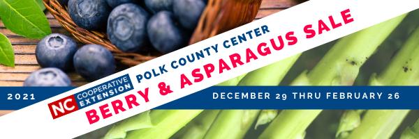 Polk County 2021 Berry & Asparagus Sale