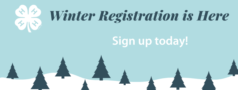 4-H Winter Registration Is Here