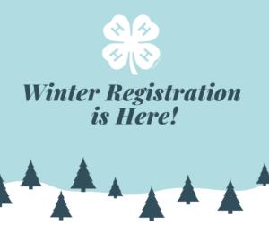 4-H Winter Registration