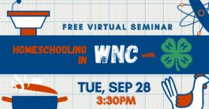 WNC Homeschool Virtual Seminar