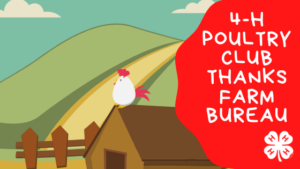 Polk Poultry Club thanks Farm Bureau